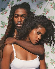 Their mom and dad // hazel eyes tho Black Love Couples, Black Love Art, Black Is Beautiful, Cute Couples, Couple Style, Couple Art, Black Girl Magic, Black Girls, Couple Noir