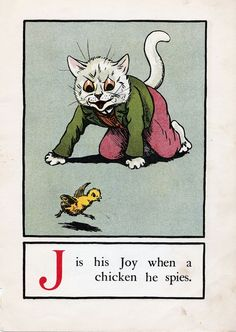 A CAT ALPHABET - J