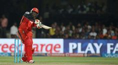 Jamaican big-hitter Chris Gayle signalled his return to form with a 38-ball 77 to help Royal Challengers Bangalore (RCB) post a mammoth 213/2 against Gujarat Lions in an Indian Premier League (IPL) 2017 match at the Saurashtra Cricket Association Stadium here on Tuesday.