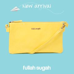 New Arrival Fullah Sugah Μονόχρωμος φάκελος με λογότυπο | 1436102316 #sales #fashion #trends #style #bags #fullah_sugah