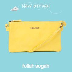 Лимонная сумочка