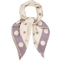 Pre-owned Burberry Prorsum Polka Dot Woven Scarf (867.100 IDR) ❤ liked on Polyvore featuring accessories, scarves, neutrals, patterned scarves, woven scarves, braided scarves, cream shawl and burberry shawl