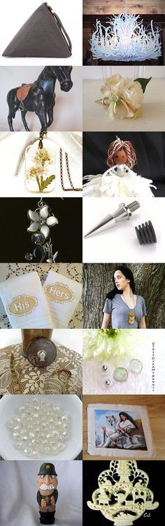 Leather 'n Lace by Margie on Etsy--Pinned+with+TreasuryPin.com