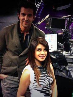Priyanka Chopra With Hrithik Roshan