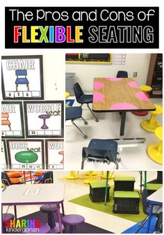 The Pros and Cons of Flexible Seating #flexibleseating #classroommanagement