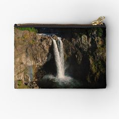 Snoqualmie Falls, Zipper Pouch, Makeup Yourself, Are You The One, Zip Around Wallet, Waterfall, Metal, Prints, Stuff To Buy