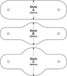 * woggle styles [from a commercial site in the UK -- use as pattern? Leather Bracelet Tutorial, Leather Keychain, Leather Cuffs, Leather Jewelry, Leather Bracelets, Metal Jewelry, Diy Wrist Wallet, Bracelet Cuir, Diy Bracelet