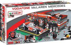Cobi - #mclaren mercedes formula 1 car & garage #1,000 piece #block set #new,  View more on the LINK: http://www.zeppy.io/product/gb/2/311007388993/