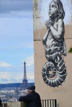 WD (...) - Parc de Belleville, Paris 20 (France)