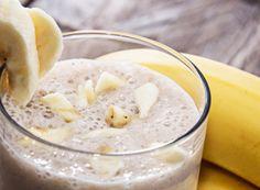 licuado de platano nutritivo , perfecto para el desayuno. Para ver la receta completa da click en el link
