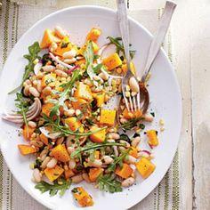 Fall Harvest Butternut Squash Recipes: Three Sisters Salad