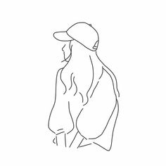 Art Sketches Aesthetic – Trend Art ideas on World Pencil Art Drawings, Easy Drawings, Art Sketches, Minimalist Drawing, Minimalist Art, Illustration Tattoo, Art Sketchbook, Aesthetic Art, Simple Aesthetic