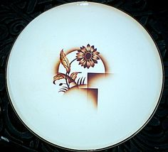 Vintage Erphila Cake Plate Platter Art Deco by MTippingAtelier, $45.00