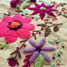 Nayla Marc, talleres de bordado en España