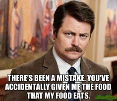 Ron Swanson.  Awesome.