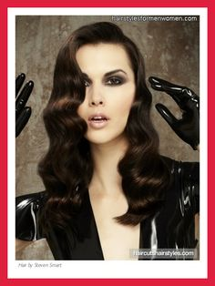 Create 1920s Finger Wave Hairstyle cakepins.com