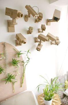 cardboard camera diy