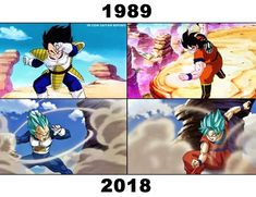 Dragon Ball Super: Vegeta vs Goku, The Past and the Present.