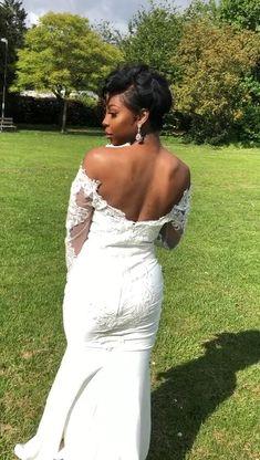 Pixie wig| short bridal hairstyles| short bridal looks Bridal Hairstyles, Pixie Hairstyles, Short Bridal Hair, Beauty Studio, Short Pixie, Bridal Looks, Wigs, Short Hair Styles, Formal Dresses