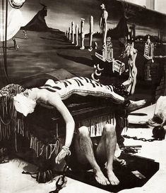 """Salvador Dali """"Dream of Venus"""", 1939"""