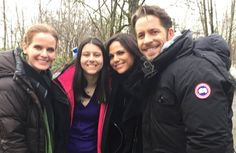 Lana Rebecca (Bex)  Sean with a Once fan #Once #BTS #Vancouver BC