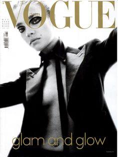 Natalia Vodianova for Vogue Italia, December 2002