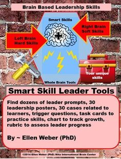 Students love to develop innovative and sizzling leader skills in ANY class you teach. For that reason I've just added 30 new cases - with student related tasks to do just that.  Students grow brain based leadership skills that break them free from ruts and jump-start progress. Use these materials to develop one new skill each week, or differentiate so that students choose to work on 30 different skills at different times.