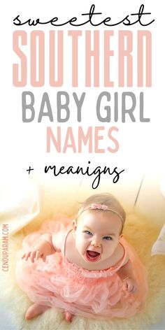 English Baby Girl Names, Southern Baby Girl Names, Country Girl Names, Cute Baby Girl Names, Strong Baby Names, Unique Girl Names, Rare Baby Names, Unisex Baby Names, Baby Names And Meanings