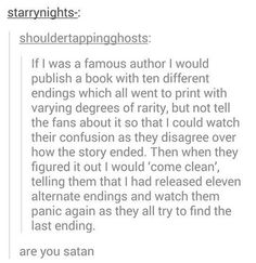Are you Satan