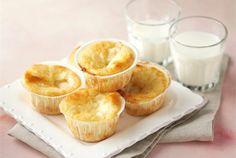 Muffin yogurt e Nutella Ricotta, My Favorite Food, Favorite Recipes, Fodmap, Mini Cupcakes, Fett, Gluten Free Recipes, Oreo, Camembert Cheese