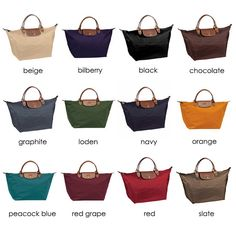 Longchamp - one in every color!