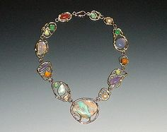 Necklace by Micky Roof for The Jewelbox in Ithaca, NY. #gems #jewels #jewelry #customdesign