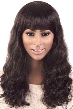 "Motown Tress Human Hair Mix Wig HBY.302 HUMAN HAIR MIX YAKY TEXTURE WAVY LONG OL 20"" Length: Long Style: Wavy Human Hair Mix Length: 20 Inches Choose your first option, if unavailable, we will ship yo"
