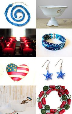 Red White Blue --Pinned with TreasuryPin.com