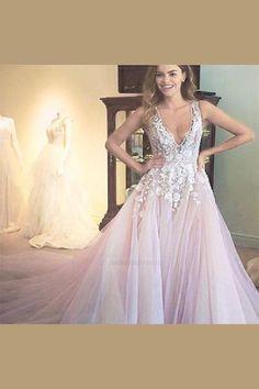 5668c742beaad 2018 Wedding Dress, Wedding Dress Pink, Pretty Wedding Dress, Wedding Dress  Cheap,