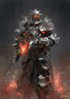 Here's a knight painting done for the Dark Souls 3 fanart contest. I'd greatly appreciate any votes in the contest gallery! www.darksouls3.com/us/creation…