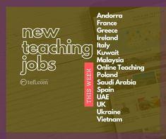 Second Language, English Language, Jobs For Teachers, Teaching Jobs, English People, English
