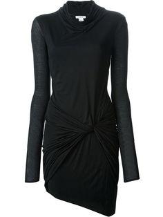 Helmut Lang Vestido Modelo 'slack' Drapeado - Please Don't Tell - Farfetch.com