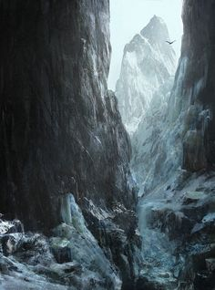 ArtStation - it's a long way to the top, olivier puechberty