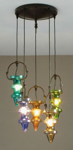 Your place to buy and sell all things handmade Brutalist, Steel Frame, Colored Glass, Amsterdam, Bulb, Chandelier, Ceiling Lights, Shapes, Handmade