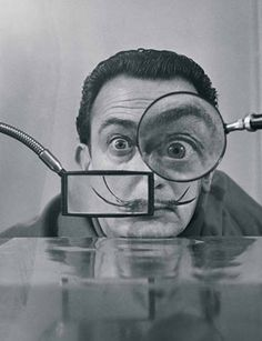 "I don't do drugs. I am drugs.""  ""At the age of six I wanted to be a cook. At seven I wanted to be Napoleon. And my ambition has been growing steadily ever since.""  ― Salvador Dalí"