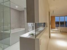 Modern open bathroom