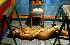 Watery Nude by Alva Bernadine