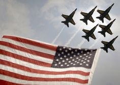 Awesome precision! U.S. Navy's Blue Angels. Almost as good as the Blue Dolphins!!! :)