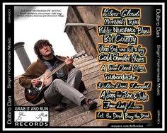 0-SHM-BACK-888 | Artist: Dolbro Dan Album: Singin Homemade Music CD Back Cover © 2010 Cd Back Cover, Dan, Folk, Blues, Lyrics, Interview, Homemade, Album, Songs