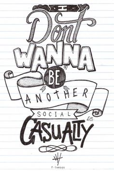 Social Casualty - 5 Seconds of Summer - Lyrics Art                                                                                                                                                                                 More