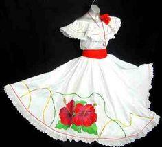 Puerto Rico Dress style for ''Bomba y Plena''