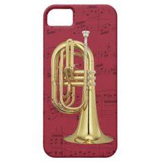 Marching Euphonium phone case. Pick color