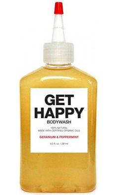 Get Happy Body Wash by Plant Bath & Shower Gel 9.3 oz Geranium & Peppermint Best Price