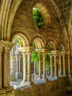 ❥‿↗⁀simply-beautiful-world travelthisworld: Fontfroide Abbey Narbonne, France Beautiful Architecture, Beautiful Buildings, Narbonne France, Beautiful World, Beautiful Places, Simply Beautiful, Amazing Places, Kirchen, Abandoned Places